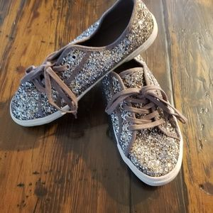 Old Navy glitter tennis shoes